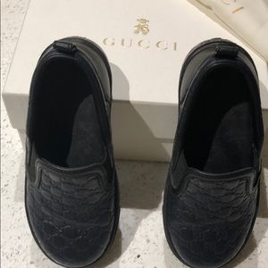 Gucci 24 UK boys toddler (5US) leather fancy